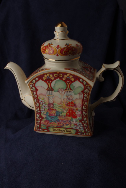 Sadler The World Collection Tea Pot Indian Tea Perfect ...